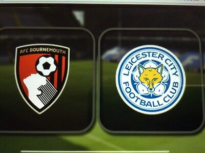 AFC Bournemouth v  Leicester City Pre Order December 13th 2016 Match Programme