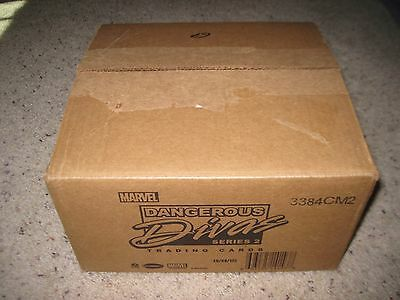 DANGEROUS DIVAS Series 2 EMPTY Display 12 Box Collector CASE No Cards MARVEL
