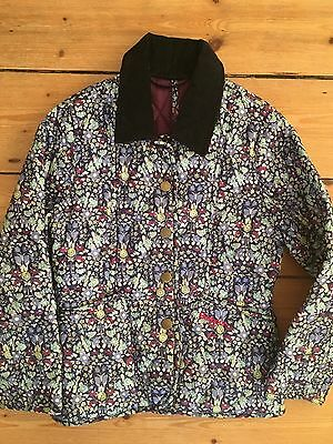 BARBOUR Girls Liberty print Jacket - Age 4 - 5 Special Edition for John Lewis
