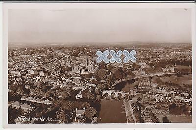 Hammonds Photo Postcard - Hereford From The Air.