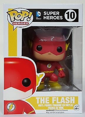 Funko POP Heroes - The Flash 10 Free S/H