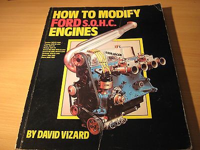 how to modify ford sohc -pinto engines,david vizard,good condition,fast post