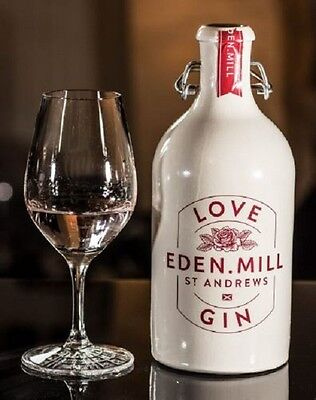 500ml EMPTY STONEWARE KILNER TOPPED EDEN MILL LOVE GIN BOTTLE (ST ANDREWS)