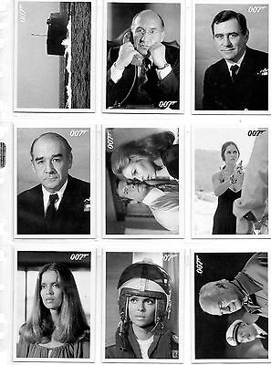 James Bond - The Spy Who Loved Me - Lot of 11 Throwback Cards NM Rittenhouse