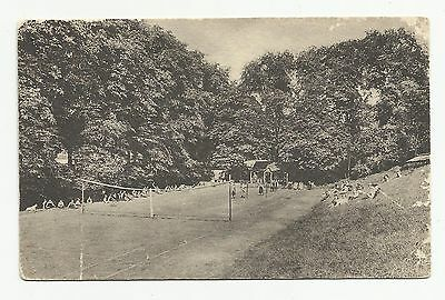 Western House School  Nottingham. Tennis Courts, e.1900s.