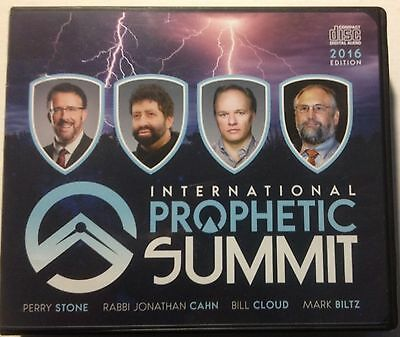 Perry Stone 2016 International Prophetic Summit 10 Audio CD. Excellent Condition