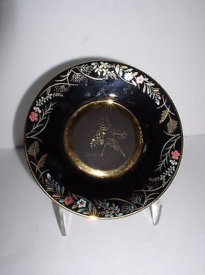 """The Japanese Blossoms of Autumn-Arrowroot by Hamilton 6"""" Collector Plate #0991D"""