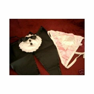 Bridal Underwear For The Bride Pink & White & Mens Tuxedo Black White One Size