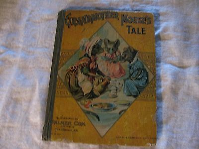 Grandmother Mouse's Tale  1902 Palmer Cox Illustrations