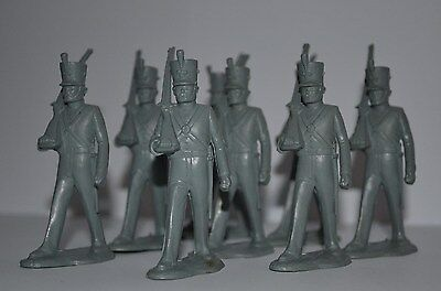 Marx  1815-1830's  Wars   Marching Infantry 2.1/2inch figures