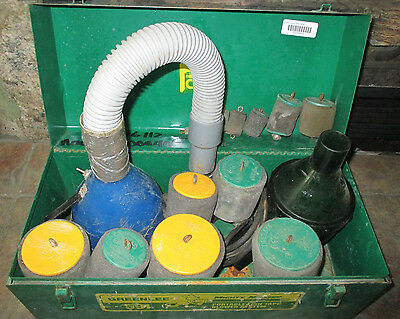 Greenlee # 591 Fish Tape Blower System / Set With Case