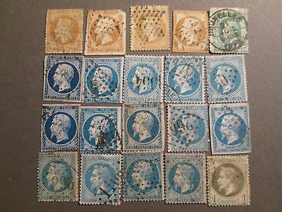 lot timbres napoleon   Lot stamps napoleon