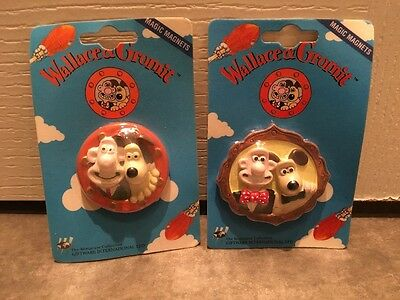 2x Wallace and Gromit fridge magnets / cameo & porthole