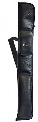 Queue Tasche Master schwarz  2/2 Pool Billard Snooker Winsport 1330.08