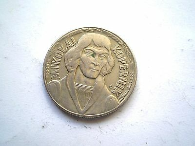 EARLY 10 ZLOTYCH  COIN FROM POLAND-DATED -1967-nice