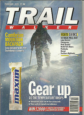 Trail February 1995 Live For The Outdoors.