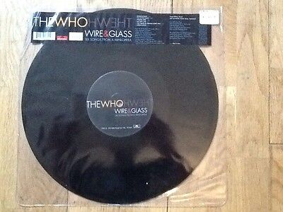 12 Vinyl Etched Vinyl The Who Wire And Glass Limited Edition