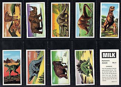 Cigarette/Trade cards, Dinosaurs 1963 mint