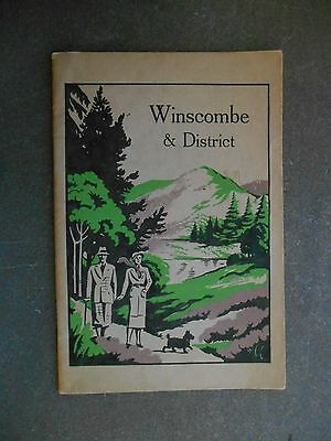 GUIDE - WINSCOMBE & District - 1930s - Somerset - 32 pages