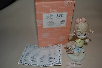 NIB 2004 PRECIOUS MOMENTS TAKE MY HAND RONALD McDONALD HOUSE CHARITIES 119460