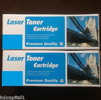 2 x Black Toner Cartridge Non-OEM Alternative For HP Q1338A - 38A - 12,000 Pages