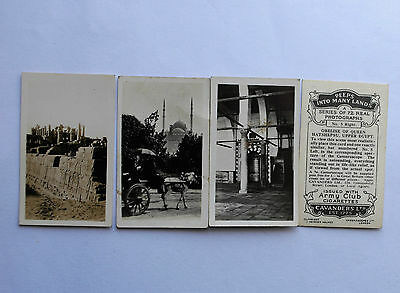 Cavanders Cigarette Cards For Use With 3D Viewer