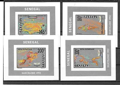 OLYMPICS/Senegal/Africa-Great dealer lot of unlisted imperf set (in quantity)MNH