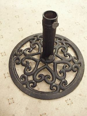 Large Wrought Iron Decorative Christmas Tree Stand