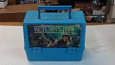 Star Wars / Lunch Box / RETURN OF THE JEDI / no thermo - RARE Canadian version !