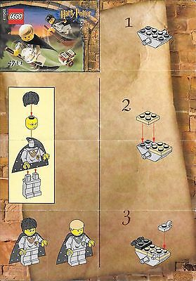 Lego 4711 Harry Potter Flying Lesson instructions map