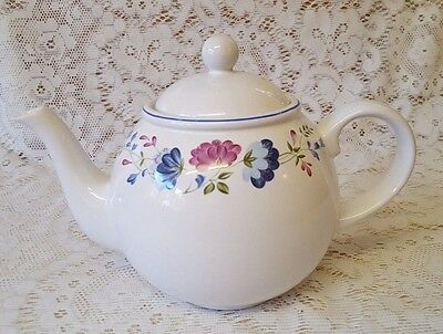 British Home Stores Priory 2pt Tea Pot ~ BHS