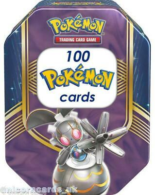 Pokemon Collector Tin II With 100 Mint And Original Pokemon Cards + Play Coin