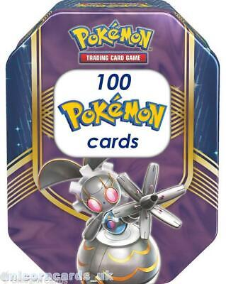Pokemon Collector Tin VIII With 100 Mint And Original Pokemon Cards + Pin + Coin