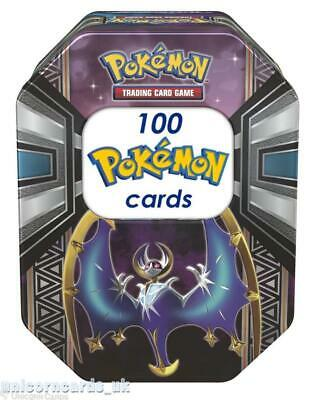 Pokemon Collector Tin VII With 100 Mint And Original Pokemon Cards + Pin + Coin