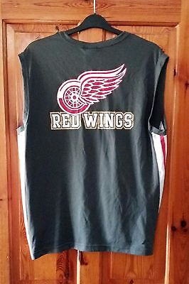 Classic Detroit Red Wings Nhl Vest       Majestic        Large
