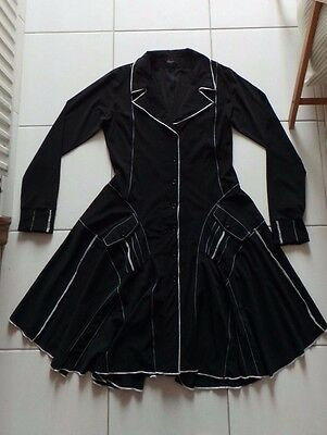 CASSIOPEE robe noire taille 38 40 comme neuve