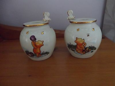 Lenox Winnie the Pooh candle holders.