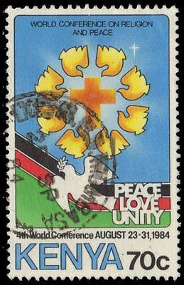 KENYA 310 (SG321) - World Conference on Religion and Peace (pf76614)