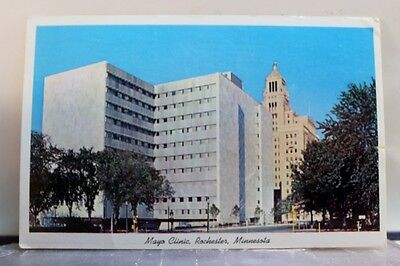 Minnesota MN Rochester Mayo Clinic Postcard Old Vintage Card View Standard Post
