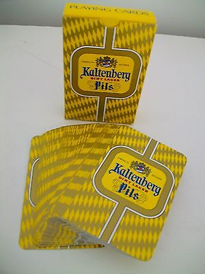 Vintage Pack of KALTENBERG PILS LAGER Playing Cards - New and Boxed