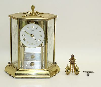 FAULTY KUNDO 400 Day Four Ball Pendulum Anniversary Mantelpiece Clock Timepiece