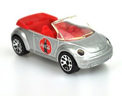 Coca-Cola Coke Modell-Auto Die-Cast Car Matchbox VW Käfer New Beetle