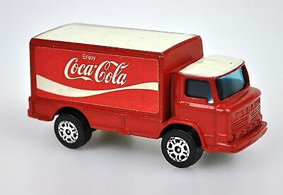 Coca-Cola Coke Modell-Auto Die-Cast Car Corgi Junior Leyland Terrier