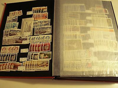 Canada - Large 32 Page Stock Book Of Used #578 - #1122, 1000's Incl. Hi. Values!