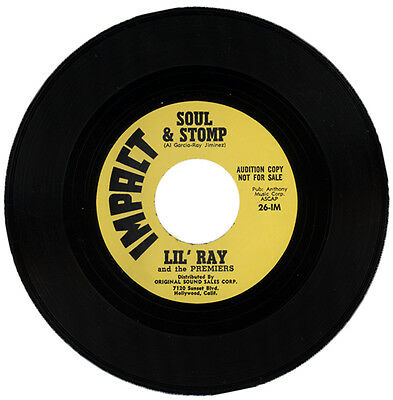 "LIL' RAY (aka RAY JIMINEZ) And The PREMIERS  ""SOUL & STOMP""  60's R&B LISTEN!"