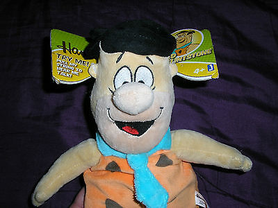 Hanna-Barbera Fred Flintstone Talking Plush Figure