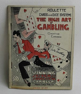 Monte Carlo Pub Co. 1937 The High Art Of Gambling Book By Sir Anthony Softcover