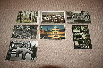 A collection of Sweden postcards from the 1900s.