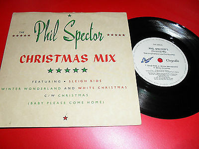 Phil Spector Christmas Mix Feat Darlene Love / Ronettes P/s