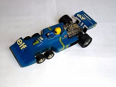 slot 1/32 SCALEXTRIC EXIN 4054 TYRRELL P-34 F1 #7 ELF -SEE- USED BOX